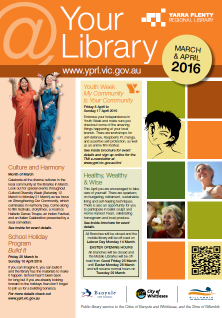 your library March April 2016